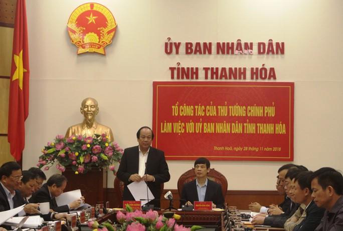 """Thủ tướng lưu ý Thanh Hóa cần khắc phục tình trạng """"quan lộ thần tốc"""" gây bức xúc - Ảnh 1."""