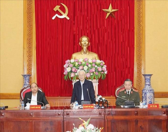 Tổng Bí thư, Chủ tịch nước dự Hội nghị Thường vụ Đảng ủy Công an Trung ương - Ảnh 1.