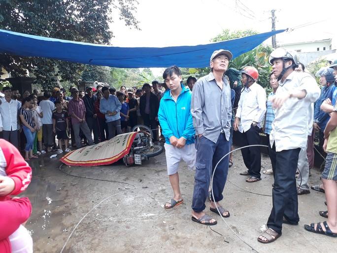 Quảng Nam: Dây điện rơi xuống đường khiến người đi xe máy chết oan - Ảnh 2.