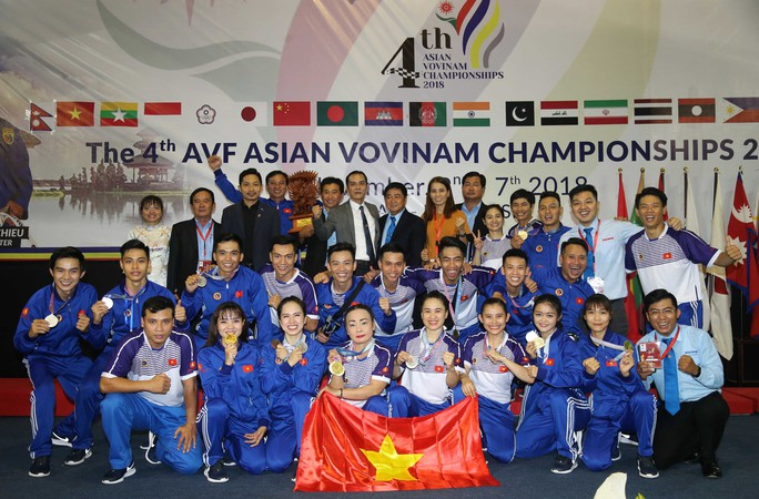 Vovinam có mặt ở SEA Games 2019 - Ảnh 1.