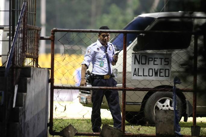 Thám thính tuyển Philippines: Tập kín, có cảnh sát vũ trang bảo vệ - Ảnh 3.