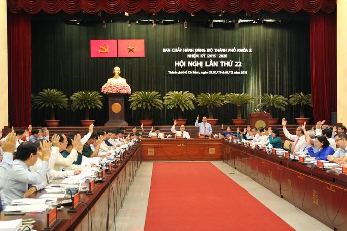 Công tác cán bộ sẽ được bàn tại Hội nghị Thành ủy TP HCM lần này - Ảnh 2.