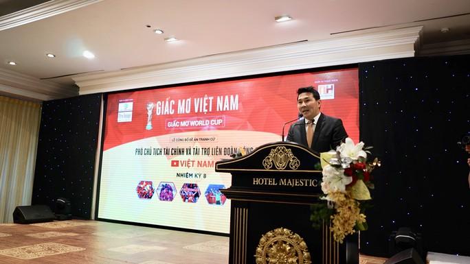 CEO Berjaya Nguyễn Hoài Nam muốn Việt Nam có mặt ở World Cup 2026 - Ảnh 1.
