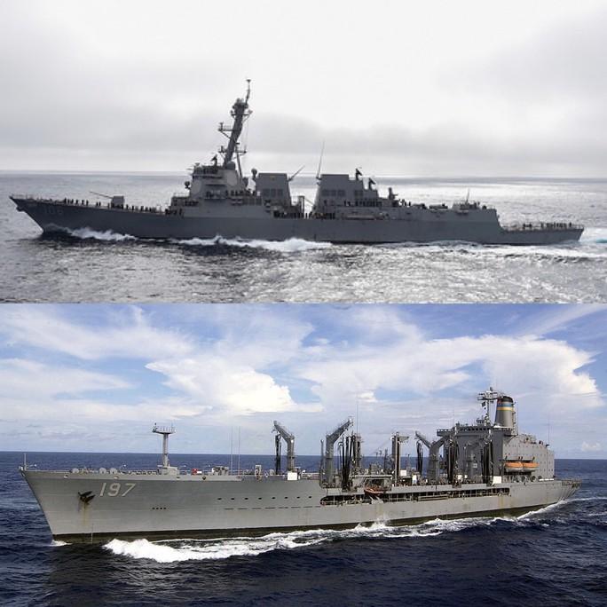 Tàu chiến Mỹ tăng tần suất qua eo biển Đài Loan - Ảnh 1.