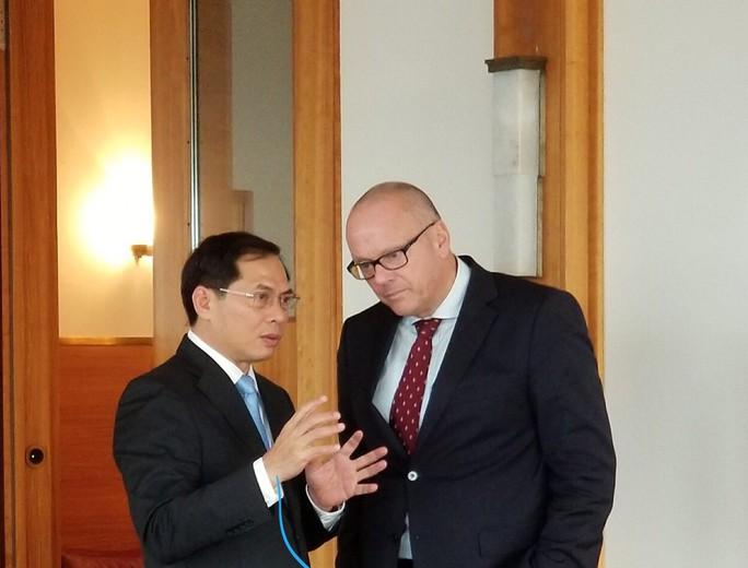 Việt Nam - Đức sẽ đối thoại chiến lược giữa hai Bộ Ngoại giao - Ảnh 3.