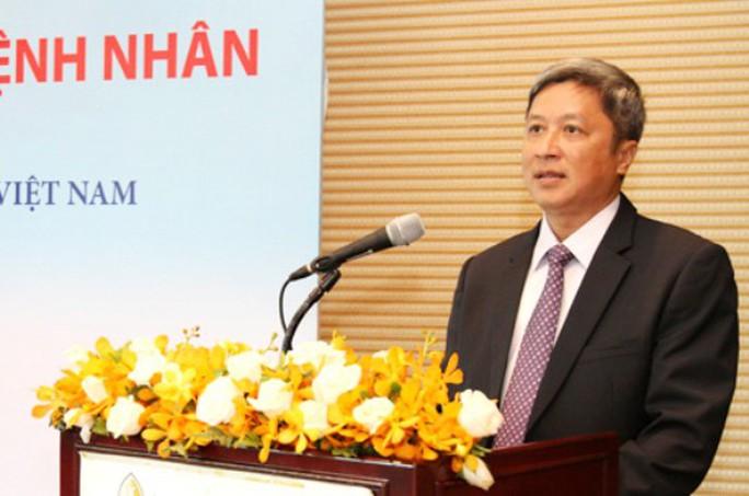 Giám đốc Bệnh viện Chợ Rẫy làm Thứ trưởng Bộ Y Tế - Ảnh 1.