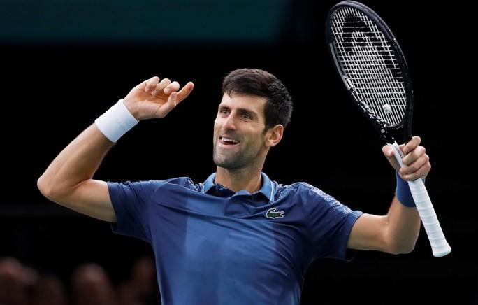 Djokovic nói gì sau đại chiến dài nhất với Federer ở Paris Masters 2018? - Ảnh 3.
