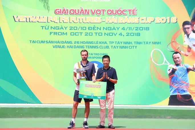 Chùm ảnh Lý Hoàng Nam về nhì Vietnam F5 Futures 2018 - Ảnh 6.