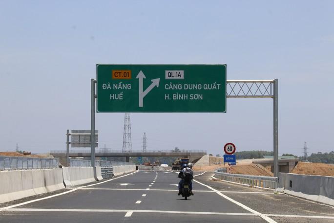 """Đường cao tốc Đà Nẵng – Quảng Ngãi: VEC phản hồi thông tin """"sụt lún - Ảnh 1."""