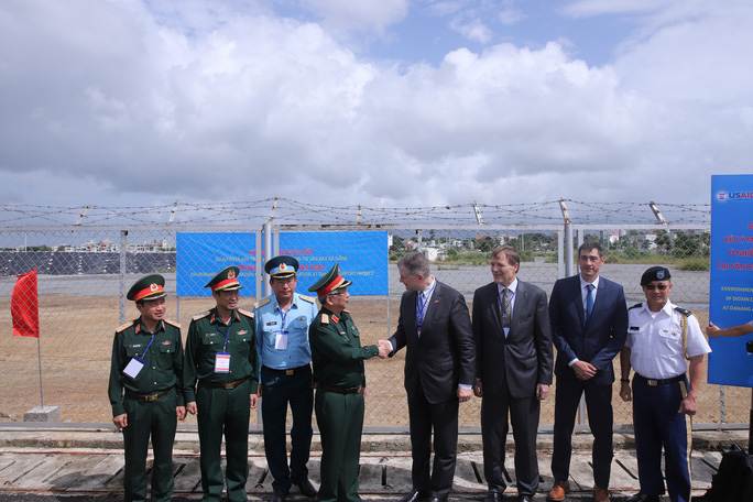 Hoàn thành tẩy độc dioxin tại sân bay Đà Nẵng - Ảnh 2.