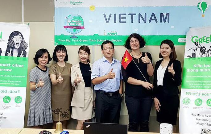 """Sinh viên Duy Tân vào Chung kết thế giới cuộc thi """"Go Green In The City"""" 2018 - Ảnh 1."""