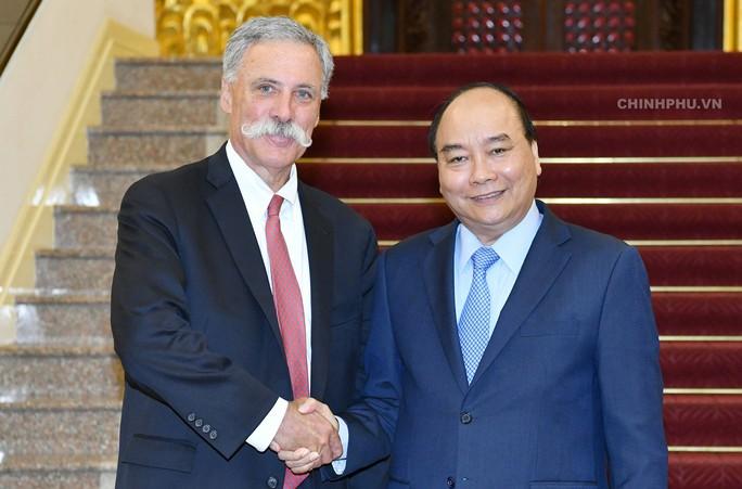 Thủ tướng: Giải đua xe F1 đóng góp vào sự phát triển của Việt Nam - Ảnh 1.