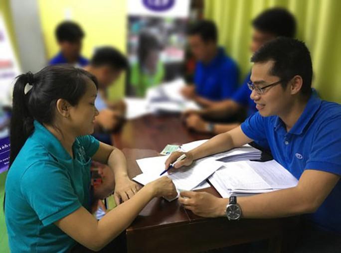 CEP hỗ trợ vốn cho đoàn viên học nghề - Ảnh 1.