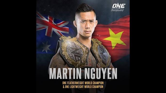 Bị chấn thương, Martin Nguyễn bỏ bớt đai vô địch hạng nhẹ - Ảnh 4.