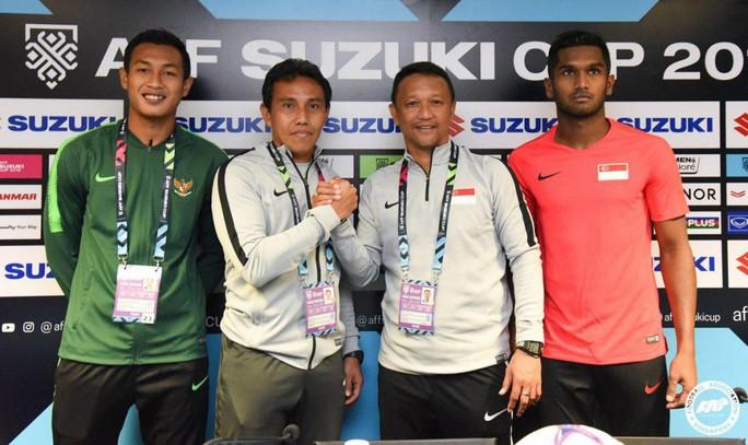 Singapore - Indonesia: Hấp dẫn 2 HLV tái đấu - Ảnh 1.