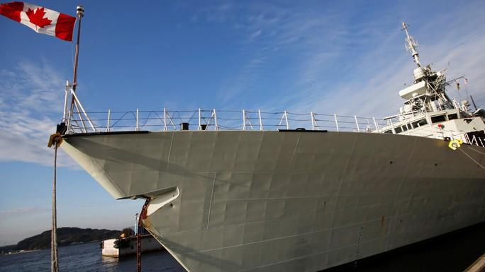 Canada tham gia chiến dịch kiềm chế Trung Quốc trên biển Đông - Ảnh 1.