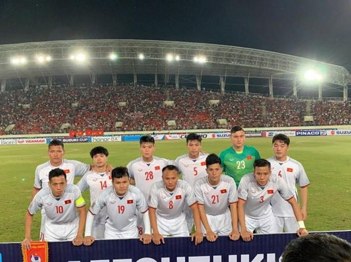 Xem 3 bàn thắng đẹp mắt ở trận Việt Nam hạ Lào - Ảnh 4.