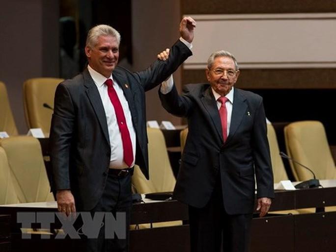 Cận cảnh Tổng Bí thư, Chủ tịch nước Nguyễn Phú Trọng đón Chủ tịch Cuba - Ảnh 20.