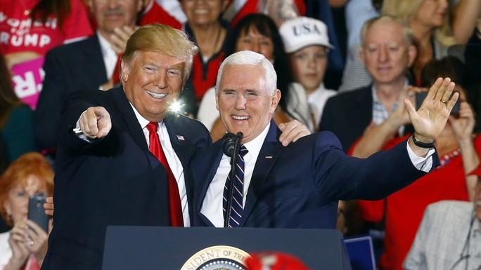 Ông Trump phái phó tướng tới châu Á để đấu Trung Quốc - Ảnh 1.