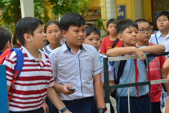 Tuyển sinh lớp 6: Trường điểm muốn thi khảo sát năng lực - Ảnh 1.