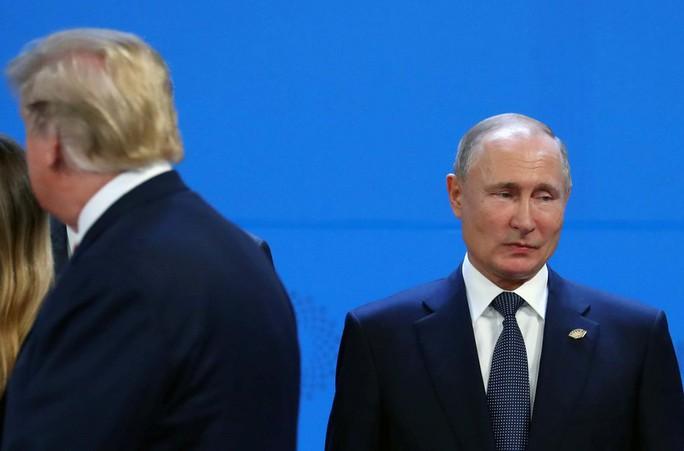 Ông Trump và ông Putin phớt lờ nhau tại G20 - Ảnh 2.