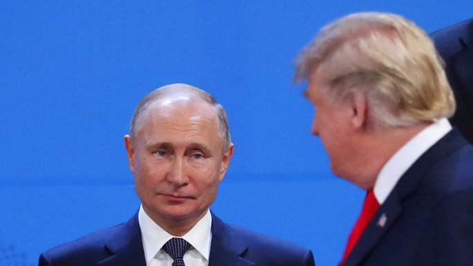 Ông Trump và ông Putin phớt lờ nhau tại G20 - Ảnh 1.