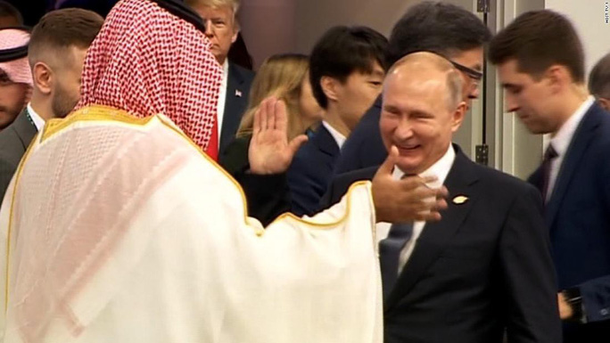 Ông Trump và ông Putin phớt lờ nhau tại G20 - Ảnh 3.