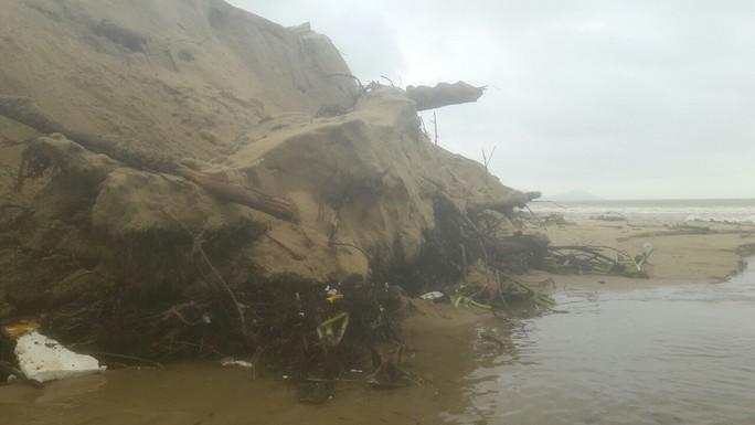 Hơn 3 km bờ biển Đà Nẵng tiếp tục sạt lở nặng - Ảnh 10.