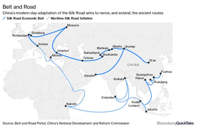 Châu Á vỡ mộng với Vành đai và Con đường của Trung Quốc - Ảnh 1.