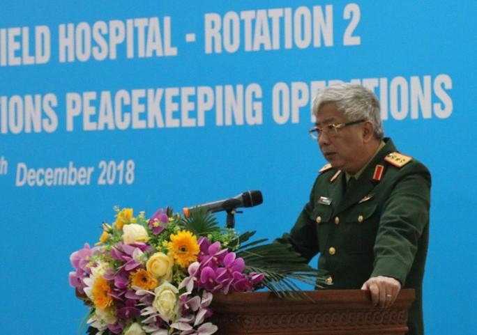 Ra mắt bệnh viện dã chiến số 2 của Việt Nam - Ảnh 8.
