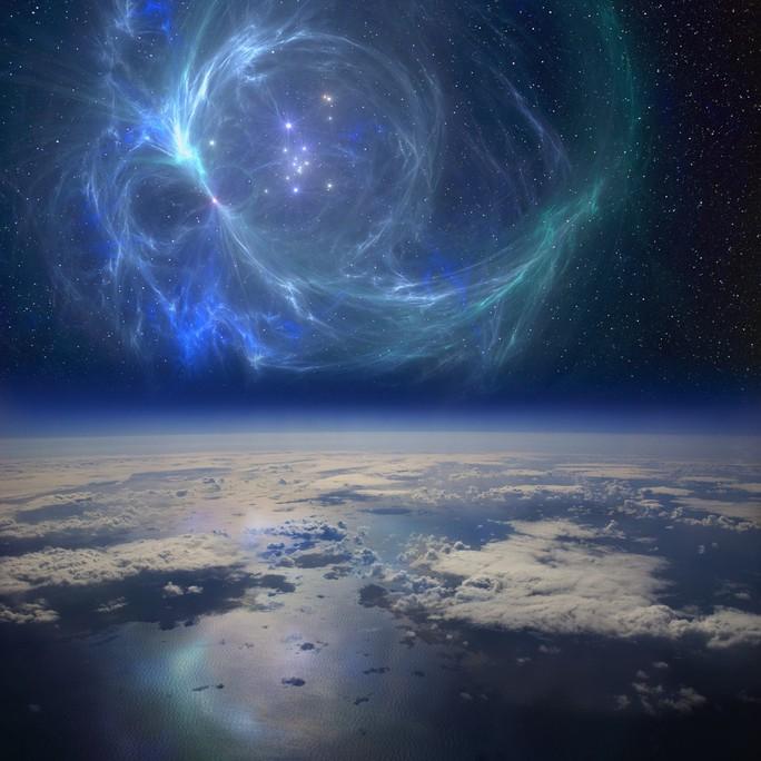 Ngôi sao phát nổ gần trái đất, tiêu diệt cá mập khổng lồ - Ảnh 1.