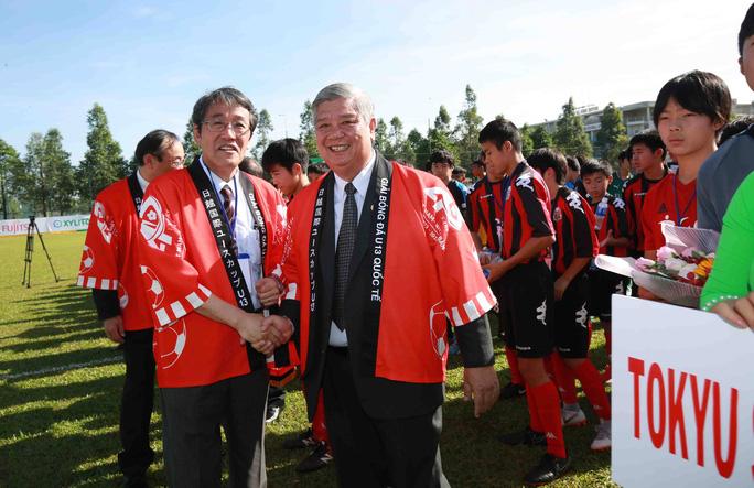 Tưng bừng ngày hội bóng đá nhí Việt - Nhật  - Ảnh 3.