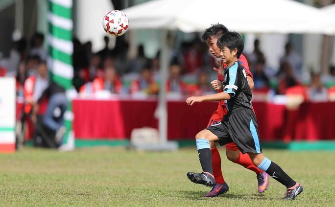 Tưng bừng ngày hội bóng đá nhí Việt - Nhật  - Ảnh 5.