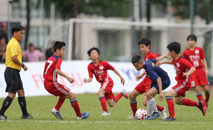 Tưng bừng ngày hội bóng đá nhí Việt - Nhật  - Ảnh 4.