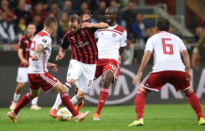 Cựu vương châu Âu AC Milan thua thảm ở Europa League - Ảnh 1.