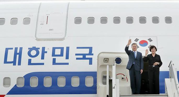 Chuyên cơ của tổng thống Hàn Quốc bị Mỹ trừng phạt? - Ảnh 1.