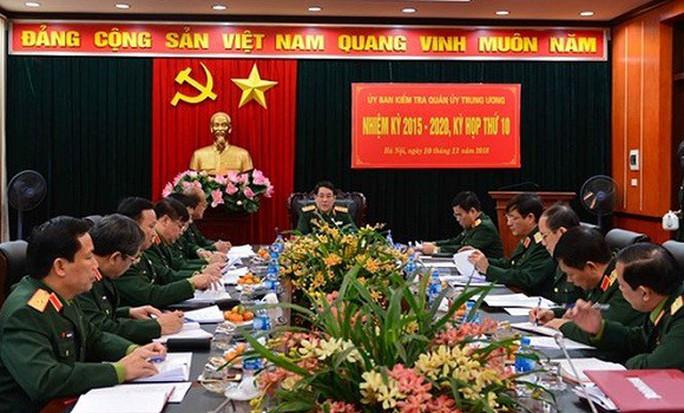 Ủy ban Kiểm tra Quân ủy Trung ương đề nghị khai trừ, cảnh cáo 8 trường hợp - Ảnh 1.