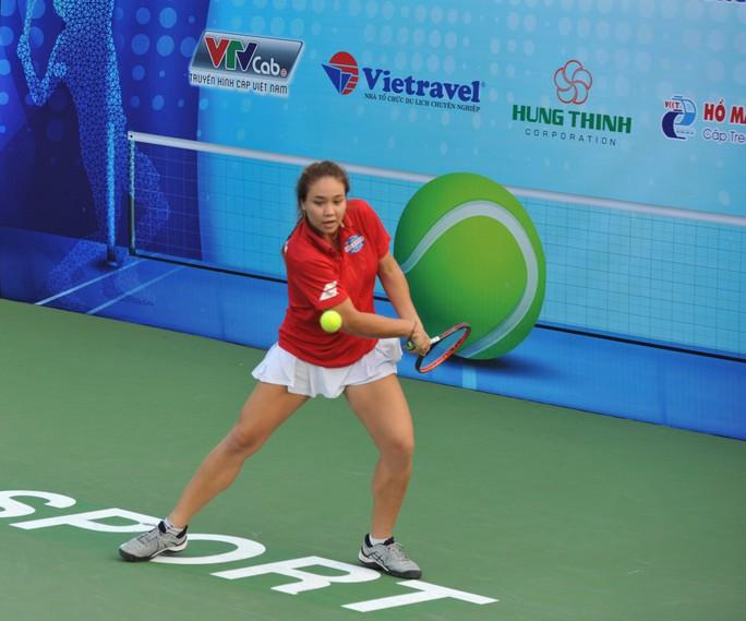 Kiều nữ quần vợt Alizé Lim dự giải 8 tay vợt mạnh toàn quốc - Ảnh 3.