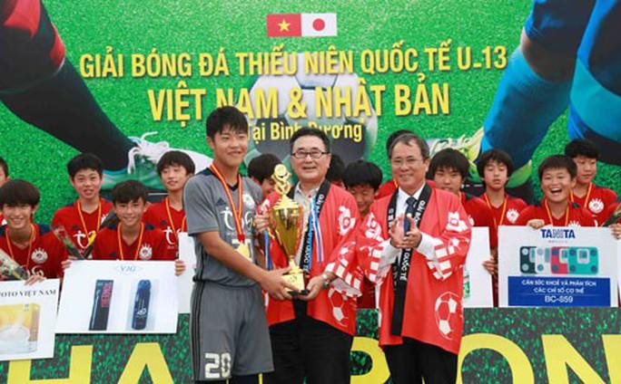 Tokyu S Reyes vô địch Giải U13 Việt Nam - Nhật Bản - Ảnh 1.