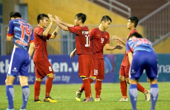 Việt Nam thắng đậm Gimhae CFC, vào chung kết U21 quốc tế 2018 - Ảnh 3.