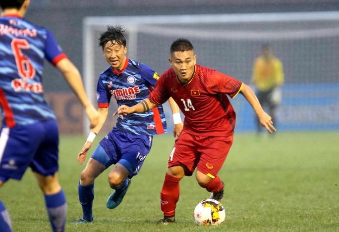 Việt Nam thắng đậm Gimhae CFC, vào chung kết U21 quốc tế 2018 - Ảnh 1.