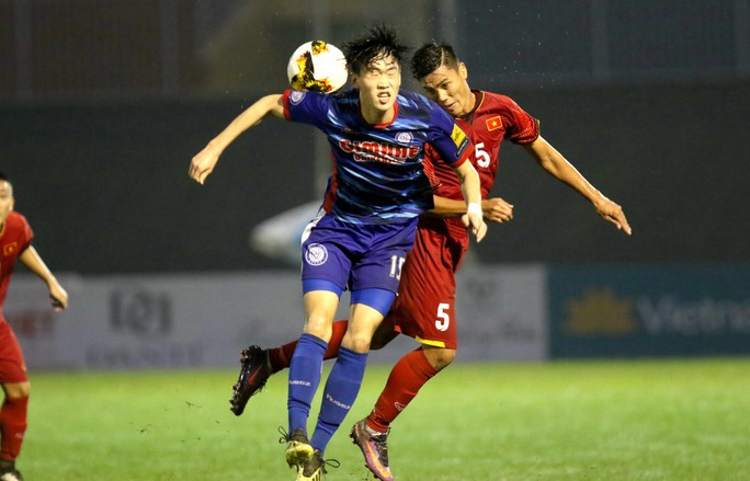 Việt Nam thắng đậm Gimhae CFC, vào chung kết U21 quốc tế 2018 - Ảnh 2.