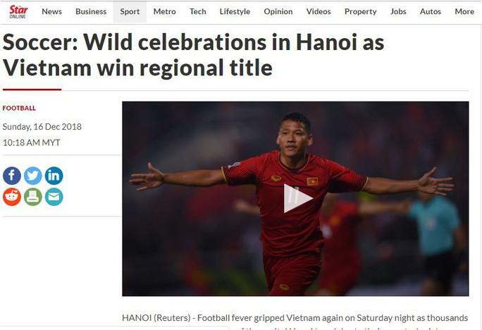 Các báo Malaysia thừa nhận Việt Nam lên ngôi vương thuyết phục - Ảnh 1.