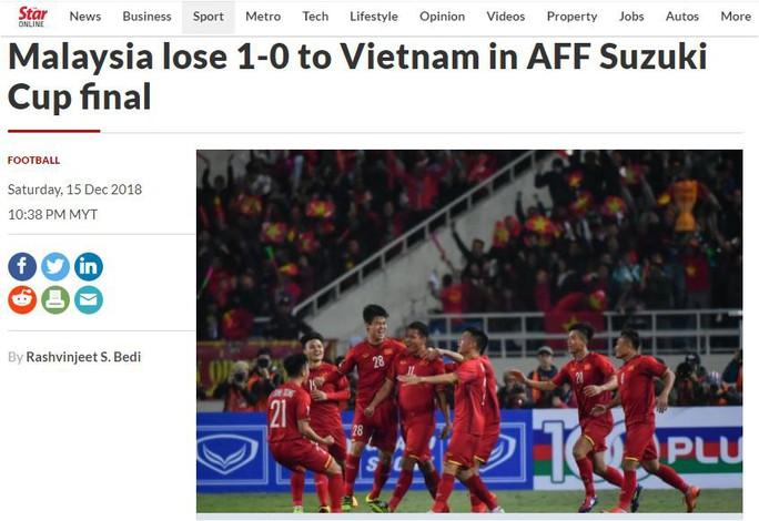 Các báo Malaysia thừa nhận Việt Nam lên ngôi vương thuyết phục - Ảnh 4.