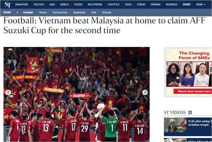 Các báo Malaysia thừa nhận Việt Nam lên ngôi vương thuyết phục - Ảnh 5.