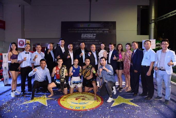 Giải Muay Thái Quốc tế tranh đai USC: Nhiều đại chiến đầy hứa hẹn - Ảnh 1.