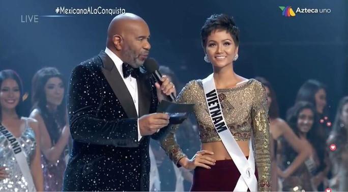 Chung kết Hoa hậu Hoàn vũ Thế giới 2018: HHen Niê dừng ở tốp 5 - Ảnh 1.