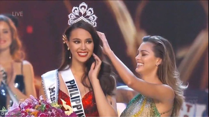 Người đẹp Philippines đăng quang Hoa hậu Hoàn vũ Thế giới 2018 - Ảnh 2.