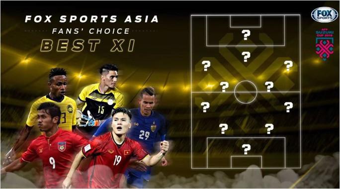 Tuyển thủ Việt Nam đứng đầu danh sách ứng cử đội hình tiêu biểu - Ảnh 2.