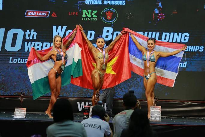 Thể hình Việt Nam giành 3 HCV thế giới - Ảnh 1.
